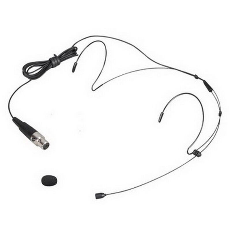 Pro Black Headset Head Microphone Mic for Shure Wireless