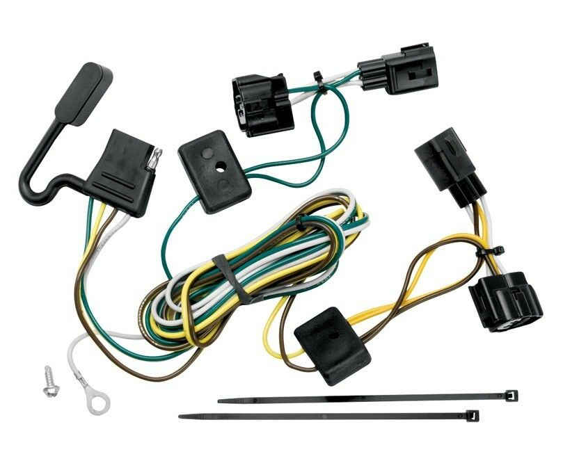 Trailer Wiring Harness Kit For 98-06 Jeep Wrangler All