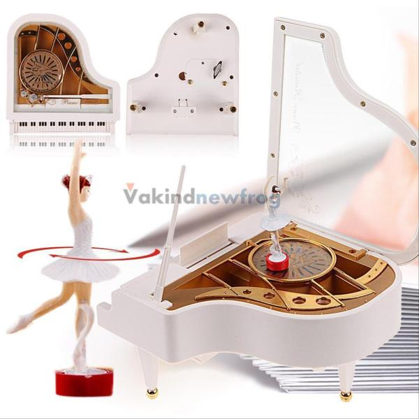 Dancing Ballerina Music Box Piano