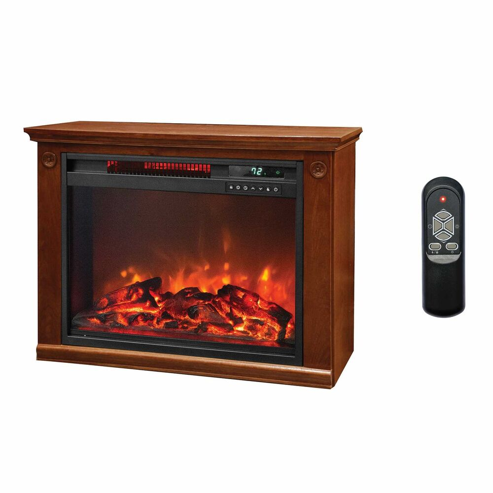 LifeSmart 1500 Watt Large Infrared Quartz Electric Portable Fireplace Heater 817223011467  eBay