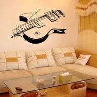 Guitar Music Removable Vinyl Decal Wall Sticker Mural Room ...