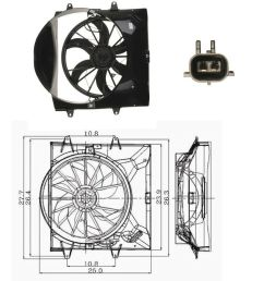 jeep cherokee 4 0 engine diagram cooling system electric cooling fan assembly for 1999 [ 1000 x 1000 Pixel ]