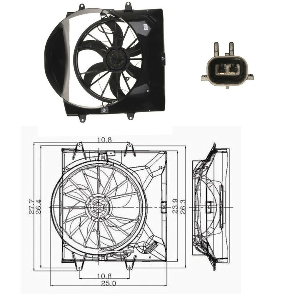 medium resolution of  jeep cherokee 4 0 engine diagram cooling system electric cooling fan assembly for 1999