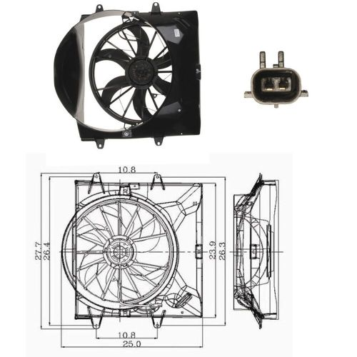 small resolution of  jeep cherokee 4 0 engine diagram cooling system electric cooling fan assembly for 1999