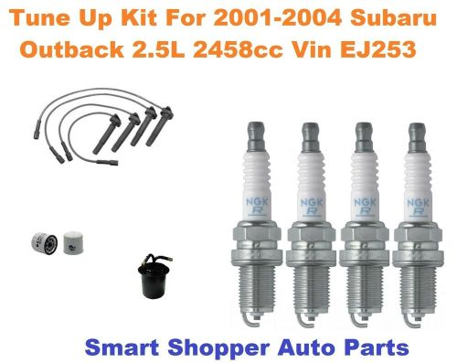 small resolution of details about tune up for 2001 2002 2004 subaru outback spark plug wire set oil fuel filter
