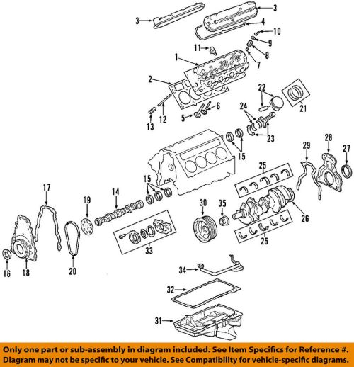 small resolution of details about gm oem engine cylinder head 12629049