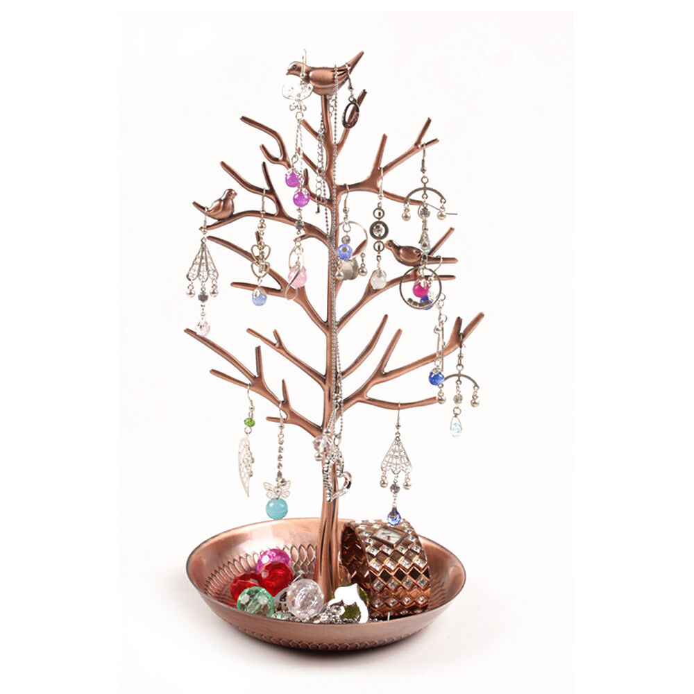 Jewelry Tree Stand Holder Earring Bracelt Necklace