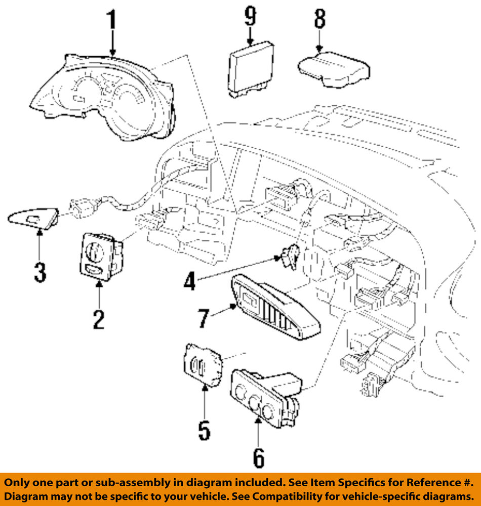 hight resolution of details about pontiac gm oem 97 98 grand prix body control module bcm 10427831