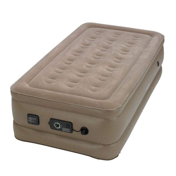 Instabed Raised Twin Air Bed Mattress With Built-in Flat Pump 840016