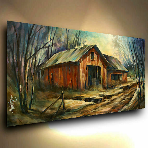 landscape painting modern art contemporary
