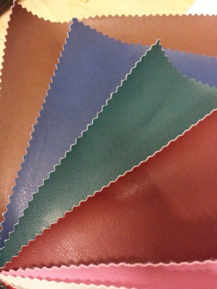 FAUX LEATHER Premium Vinyl Upholstery Fabric Leatherette