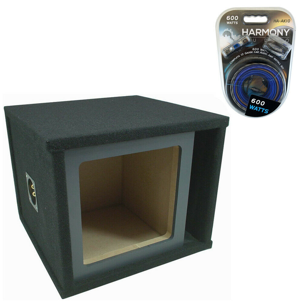 medium resolution of details about kicker solobaric single 15 ported l3 l5 l7 subwoofer enclosure sub box amp kit