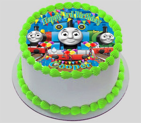 20 Thomas The Tank Engine Cake Frosting Pictures And Ideas On