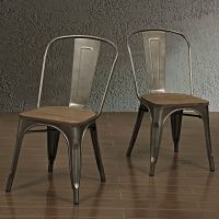 Metal Kitchen Chairs Dining Room Furniture Seating ...
