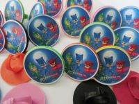 12 Pj Masks Group Rings cupcake toppers birthday party ...