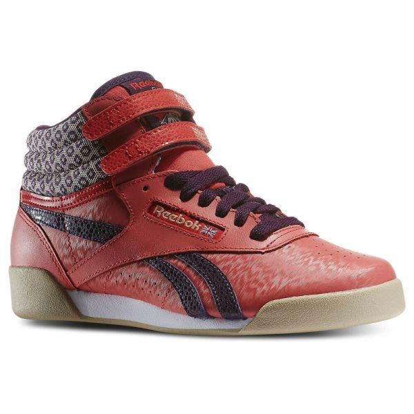 Reebok V63068 Classic Freestyle -top Poppy-red Aerobic