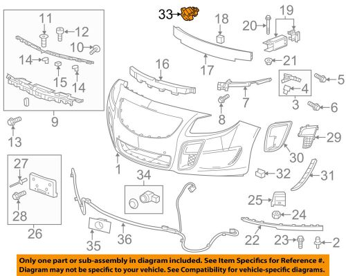 small resolution of gm oem outside air ambient temperature sensor 9152245 ebay 2014 chevy cruze outside temp sensor wiring diagram