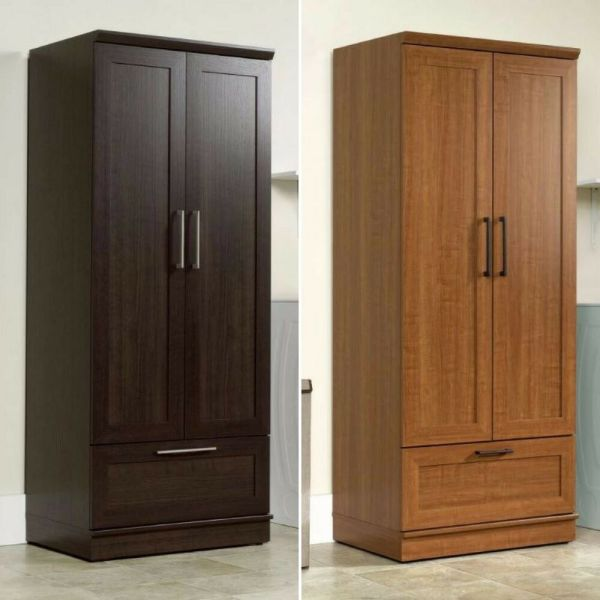Wardrobe Closet Storage Armoire Tall Bedroom Furniture Cabinet Clothes Organizer
