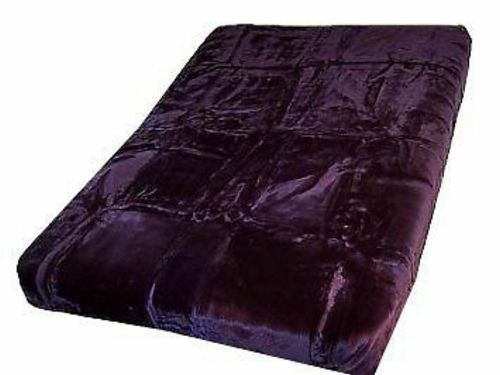 Authentic Solaron Korean Blanket Thick Mink Plush King