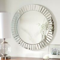 Decorative Wall Mirrors Large Round Bathroom Mirror Modern ...