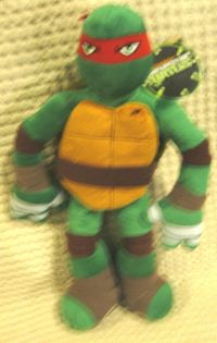 Raphael Teenage Mutant Ninja Turtles Pillow Buddy Plush ...