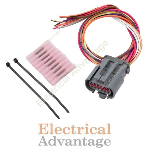 small resolution of transmission wire harness repair kit for e4od solenoid 4l80e wiring harness e40d transmission diagram