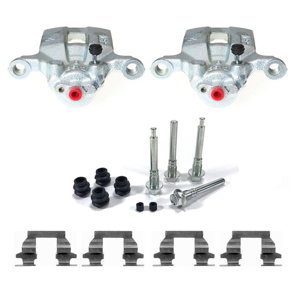 PAIR REAR BRAKE CALIPERS & SLIDER PIN KITS FITS: NISSAN X