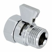 Shower Water Flow Control Valve Hand Held Sprayer Head