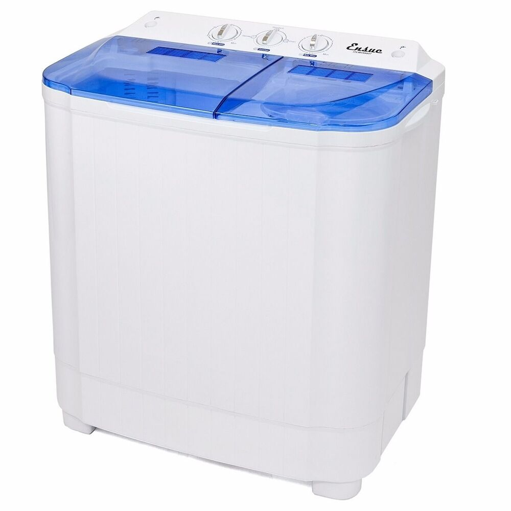 Portable Washer Machines Compact 8  9LB Washing Spin