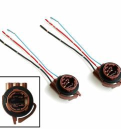 details about 2x 3157 4157 wiring harness socket adapter for turn signal tail brake light bulb [ 1000 x 1000 Pixel ]
