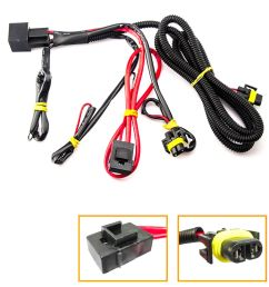 details about 880 h11 h8 relay wiring harness for hid conversion led kit add on fog light drl [ 1000 x 1000 Pixel ]