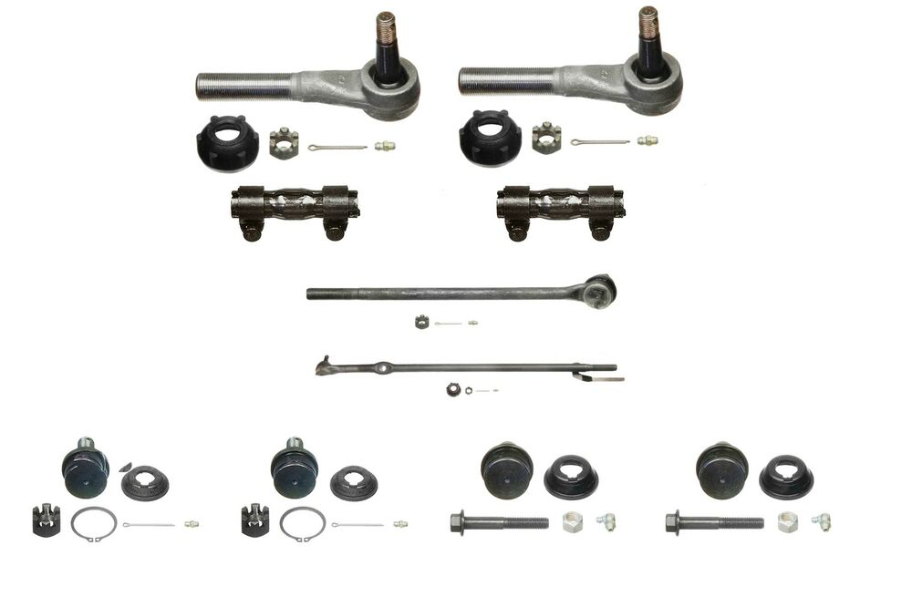10 Piece Tie Rod & Ball Joint Kit fits 1987-1997 Ford F250