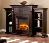 Electric Fireplace TV Stand Entertainment Center Heater ...