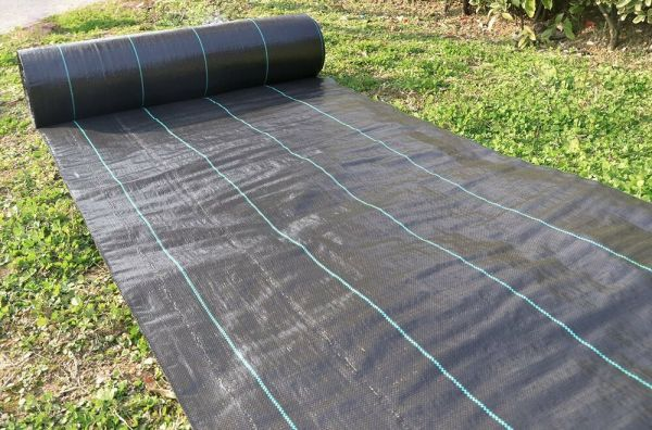 ground cover3x330ft heavy pp woven