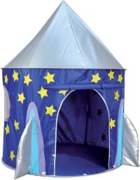 Childs Playhouse Girl Boy Space Rocket Ship Cabin Tent Pop ...