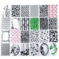 Plastic Embossing Folder Christmas Template DIY Scrapbook