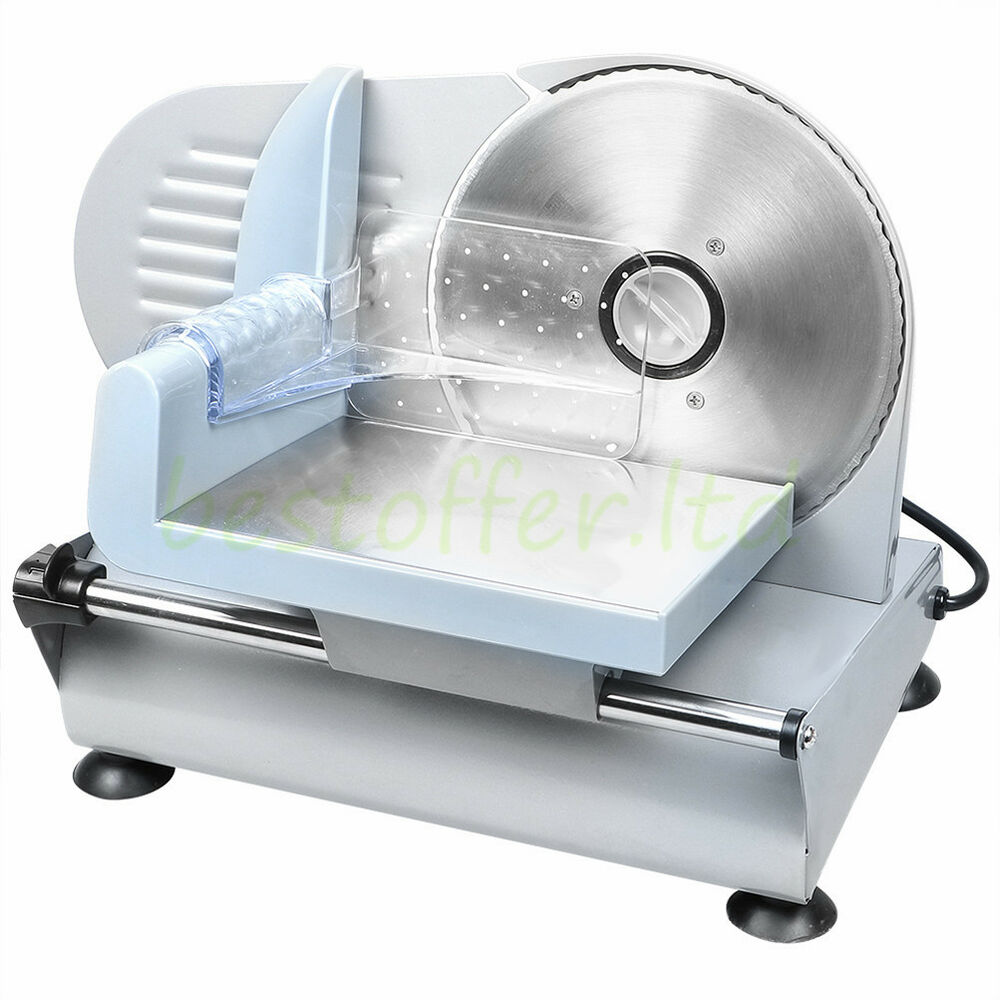 75 Blade 180W Commercial Meat Slicer Electric Deli Slice