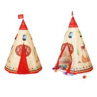 Childrens Kids Teepee Indian History Pop-up Play Tent ...