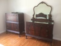 Antique Mahogany 1930's Bedroom set | eBay