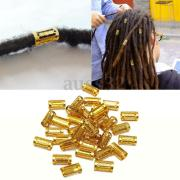 34pcs long mixed gold dreadlock