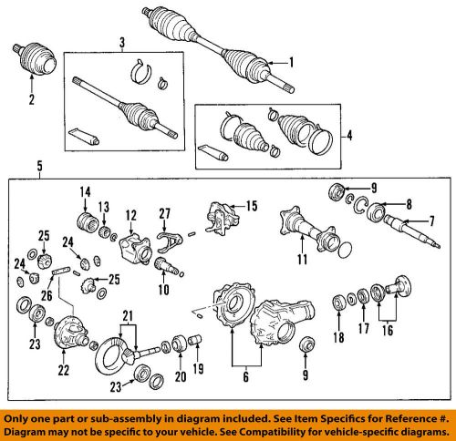small resolution of toyota front axle diagram we wiring diagramtoyota oem 00 06 tundra front cv axle joint boot