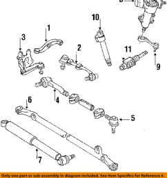 details about toyota oem 86 95 pickup steering tie rod assembly 4546039505 [ 880 x 1000 Pixel ]