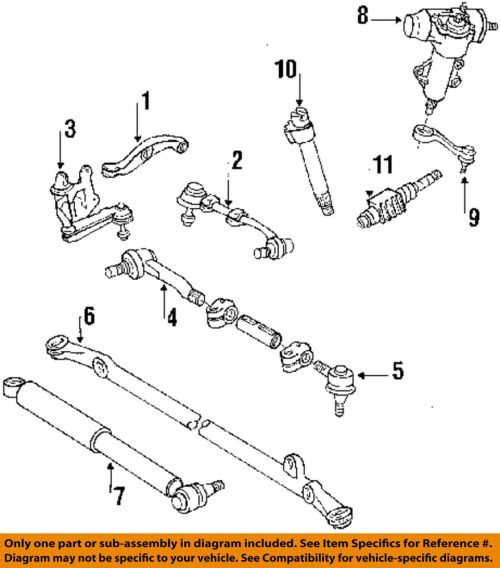 small resolution of details about toyota oem 86 95 pickup steering tie rod assembly 4546039505