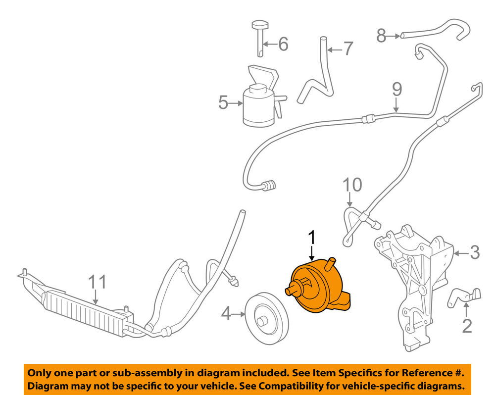 hight resolution of details about gm oem power steering pump 20832683