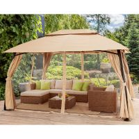 outdoor home 10' x 13' backyard garden awnings Patio ...