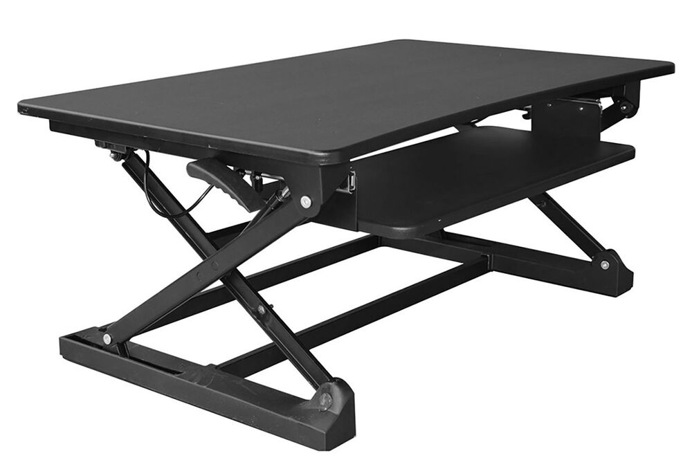 xecFIT Adjustable Height Convertible Sit to Stand Up Desk