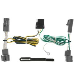 details about trailer connector kit custom wiring harness fits 89 91 ford bronco [ 1000 x 1000 Pixel ]