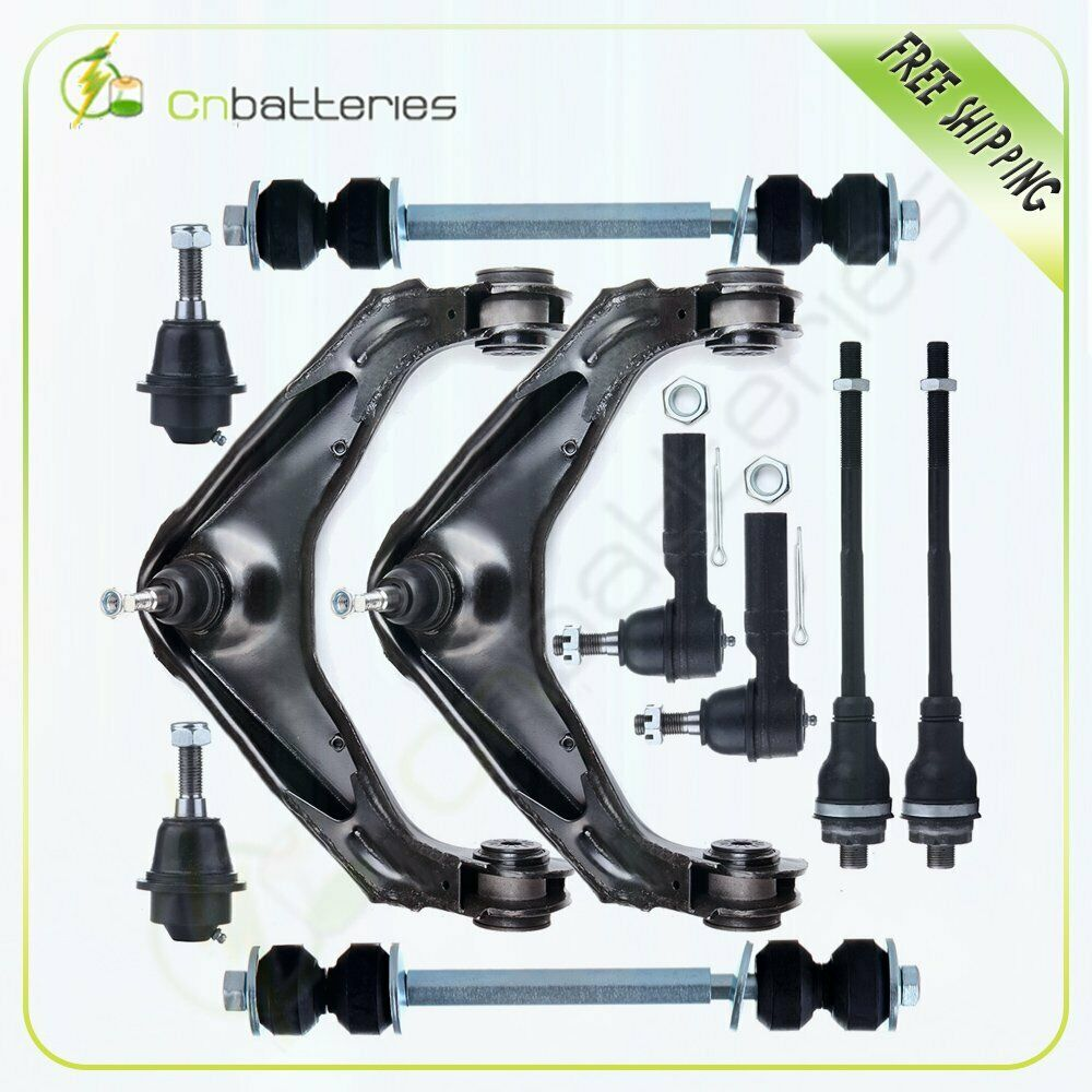 hight resolution of details about 10pc front suspension kit for chevrolet gmc silverado 1500 2500 3500 hd sierra