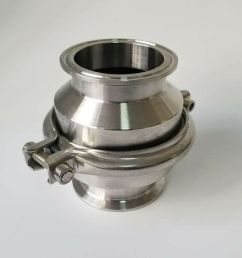 details about 3 1 2 stainless steel 304 tri clamp sanitary flame arrester pipe fire filter [ 960 x 960 Pixel ]