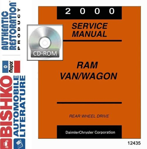 small resolution of details about 2000 dodge ram van wagon shop service repair manual dvd engine wiring oem